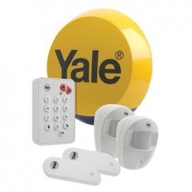 Yale Easy Fit Standard Wireless 2-Room Alarm System