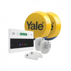 Yale Easy Fit Telecommunicating Wireless 2-Room Alarm System