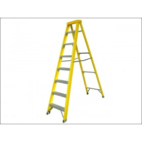 Zarges Fibreglass Swingback Steps Stepladder 8 Rungs