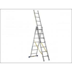 Zarges Skymaster Trade Ladder 3-Part 3 x 10 Rungs