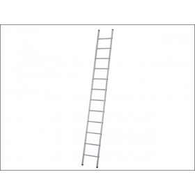 Zarges Industrial Single Aluminium Ladder 7 Rungs