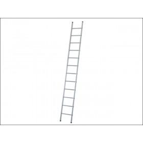 Zarges Industrial Single Aluminium Ladder 7 Rungs