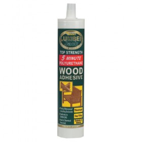 Lumberjack 5 Minute Polyurethane Wood Adhesive Gel - 310ml