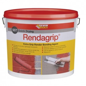 Everbuild 507 Rendagrip Render Bonding Agent Red - 10L