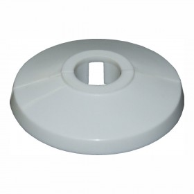 10mm Unifix Tradefix Plastic Pipe Collar Cover White - Box of 25